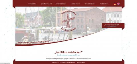 """Trotz Corona: Restaurant """"Zur Alten Mühle"""" in Glückstadt ist für Sie da in Glückstadt"""