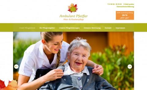 Ambulante Pflege im Trend in Bergen auf Rügen