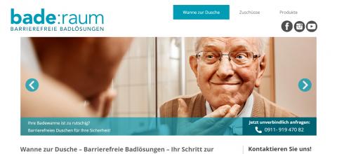 Von der Wanne zur barrierefreien Dusche mit bade:raum in Nürnberg