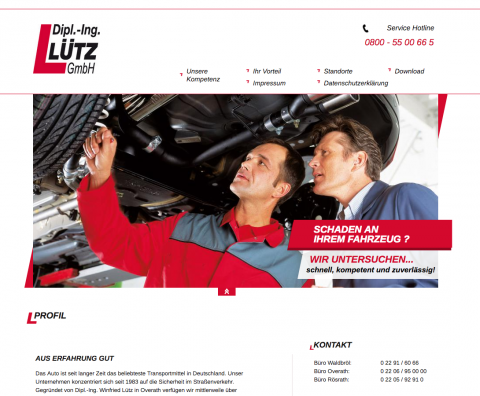 Kfz-Sachverständige der Dipl.-Ing. Lütz GmbH in Rösrath in Waldbröl