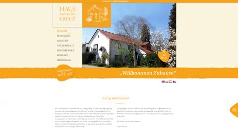 """Hotel """"Haus zum weißen Kreuz"""": Unterkunft für Privat- und Geschäftsreisende in Hürth"""
