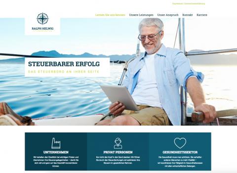 Entlastung im Gesundheitssektor: Steuerberater Ralph Helwig in Naumburg/Saale