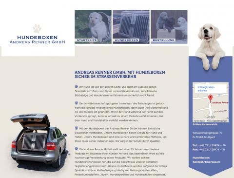 Andreas Renner GmbH steht für qualitative Hundeboxen in Stuttgart