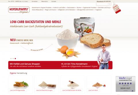 Backwaren: Mit Eiweißmehl Low Carb geeignet in Weinstadt
