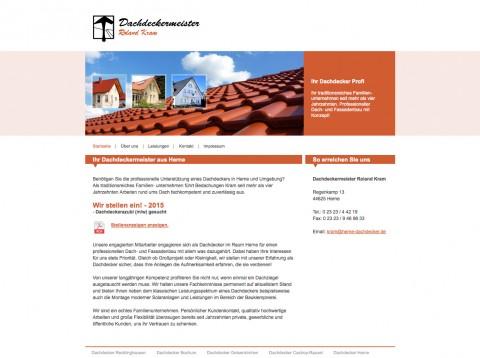 Flexibler Dachdeckerbetrieb in Herne