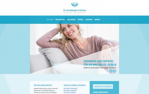 Endlich unbeschwert lachen: Oralchirurgie in der Praxis Dr. A Kroneberger & Partner in Offenbach am Main in Offenbach am Main