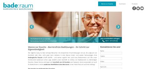 Selbstständigkeit für Senioren im Bad in Schwaig