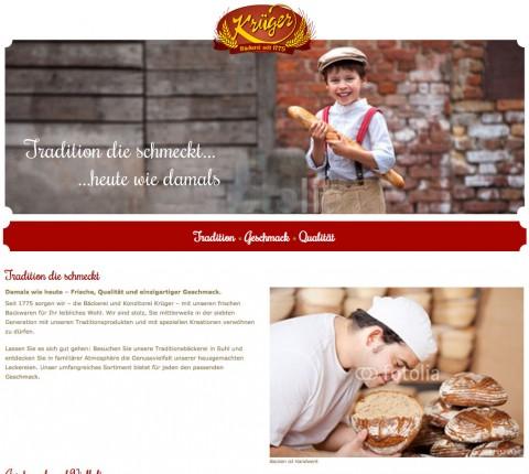 Traditions-Bäckerei und Konditorei Krüger in Suhl in Suhl