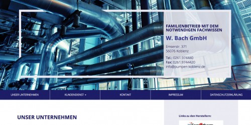 Firmenprofil von: Pumpentechnik fördert vieles zutage