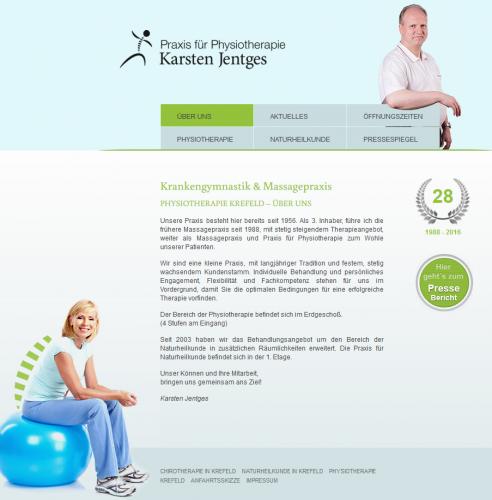 Firmenprofil von: Chirotherapeutische Anwendungen in Krefeld