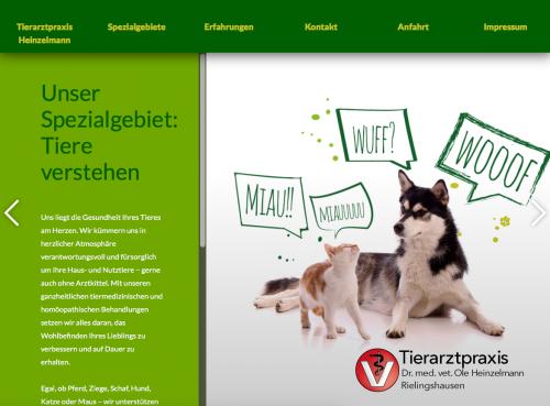 Firmenprofil von: Tierarztpraxis Dr. med. vet. Ole Heinzelmann in Marbach
