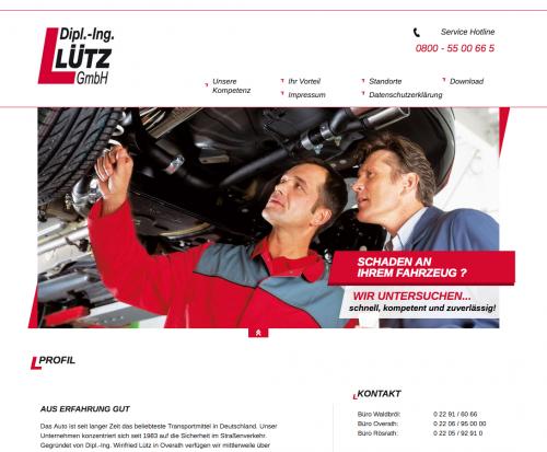 Firmenprofil von: Kfz-Sachverständige der Dipl.-Ing. Lütz GmbH in Rösrath