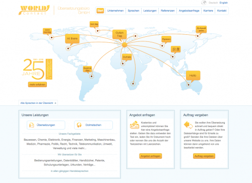 Firmenprofil von: Sprachexperten erleichtern die Verständigung