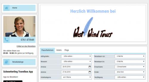 Firmenprofil von: Den Duft der weiten Welt schnuppern: Mit Reisebüro West Wind Tours in Freiburg dem Fernweh nachgeben