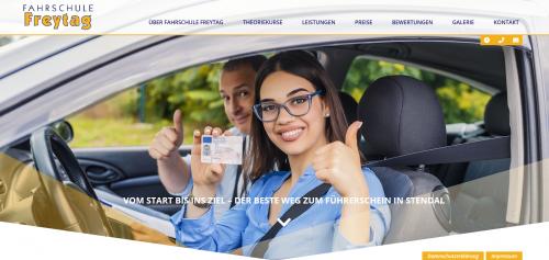 Firmenprofil von: Fahrschule Freytag: Sicher zum Lkw-Führerschein