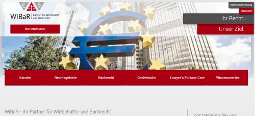 Firmenprofil von: So planen Sie sinnvoll Ihre Finanzen: Tipps von der Kanzlei für Wirtschafts- und Bankrecht