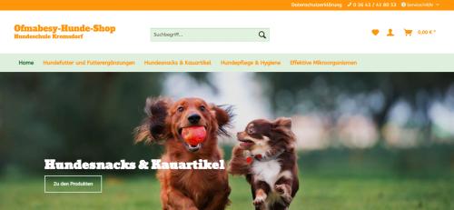 Firmenprofil von: Gesunde Snacks und Kauartikel für Ihren Hund
