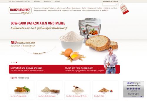 Firmenprofil von: Backwaren: Mit Eiweißmehl Low Carb geeignet
