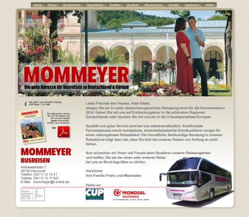 Firmenprofil von: Mommeyer Busreisen: Reisehighlight anlässlich des 60-jährigen Jubiläums