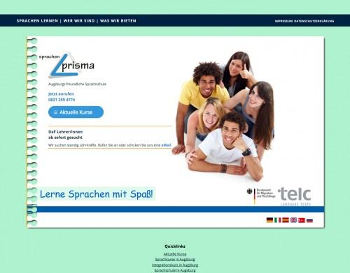 Firmenprofil von: Erfolgreich Deutsch lernen bei Sprachen Prisma in Augsburg