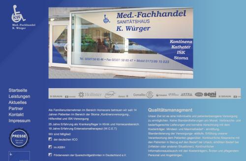 Firmenprofil von: Hilfsmittelversorgung für Paraplegiker