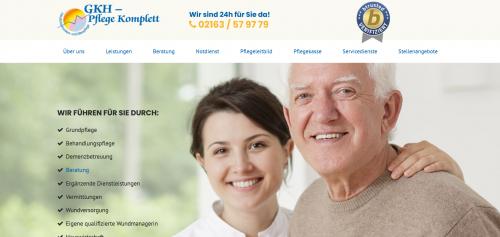 Firmenprofil von: Beratungspflege nach Paragraf 37.3? GKH Pflege Komplett informiert!