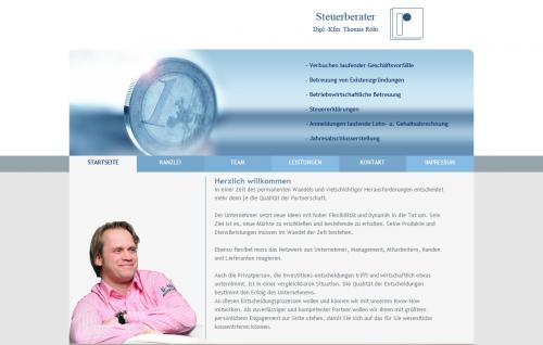 Firmenprofil von: Steuerberater Thomas Röhr in Essen-Werden