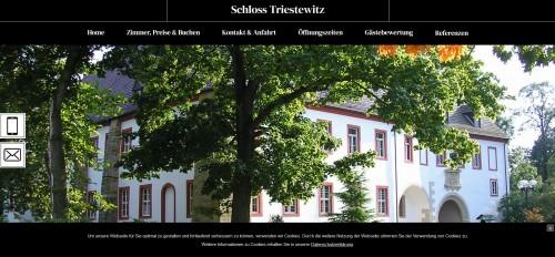 Firmenprofil von: Ihr Schlosshotel Triestewitz in Torgau – zum Träumen schön
