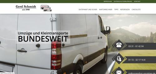 Firmenprofil von: Umfangreicher Umzugsservice aus Potsdam