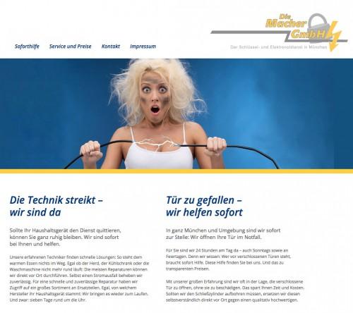 Firmenprofil von: Schlüsseldienst aus München: Die Macher GmbH