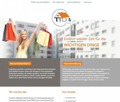 Firmenprofil von: TTD GmbH Hausverwaltung & Hausmeisterdienste