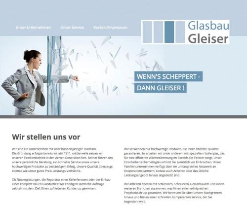 Firmenprofil von: Glasbau Gleiser GmbH in Frankfurt am Main