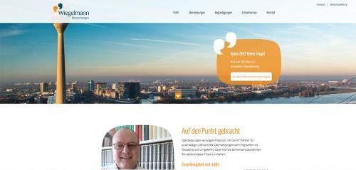 Firmenprofil von: Übersetzungsbüro Wiegelmann in Düsseldorf