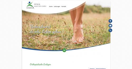 Firmenprofil von: Orthopädische Einlagen – eine Erleichterung, die spürbar ist