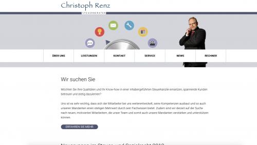 Firmenprofil von: Steuerberatung vom Profi - Steuerberater Renz in Dresden