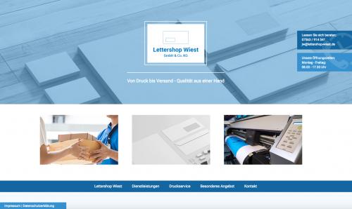 Firmenprofil von: Lettershop Wist in Kißlegg