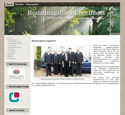 Firmenprofil von: Würdevolle Feuerbestattungen in Waren Bestattungshaus Engelhardt