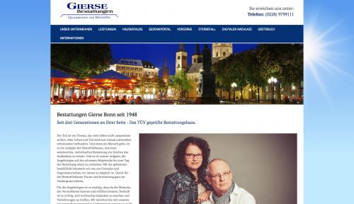 Firmenprofil von: Für einen würdevollen Abschied: Bestattungen Gierse in Bonn